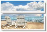 Island Attitude Stretched Canvas Print by  Celebrate Life Gallery