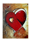 Herzklopfen Giclée-Premiumdruck von Megan Aroon Duncanson