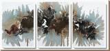 Asian Mist Stretched Canvas Print by Natasha Barnes