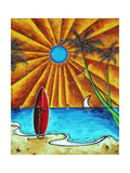 Waiting For The Surf Prints by Megan Aroon Duncanson