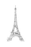 As the French Say…Eiffel Tower Reproduction giclée Premium par Marion De Lauzun
