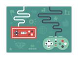 Gaming Controllers Stampe di  jhans