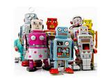 Robot Toys Print by  davinci