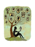 Family Tree Premium-giclée-vedos tekijänä Richard Faust