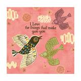 Birdie Bliss 2 Stampa giclée premium di Richard Faust