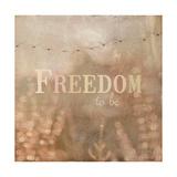 Golden Summer Flock Giclée-Premiumdruck von Matina Theodosiou