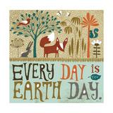 Maan päivä (Earth Day) Premium-giclée-vedos tekijänä Richard Faust