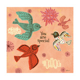 Birdie Bliss 1 Stampa giclée premium di Richard Faust
