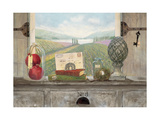 Vineyard Chateau View Reproduction giclée Premium par Arnie Fisk