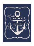 Hope Anchors the Soul Stampa giclée premium di  Z Studio