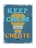 Retro Vintage Motivational Quote Poster. Vector Illustration Julisteet tekijänä  sibgat