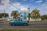 Cuba, Cienfuegos, Palacio Azul, Built 1920 - 1921, Now a Hotel Fotografie-Druck von Jane Sweeney