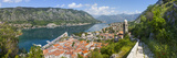 Elevated View over Kotor's Stari Grad (Old Town) and the Bay of Kotor, Kotor, Montenegro Photographic Print by Doug Pearson