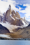 Argentina, Patagonia, El Chalten, Los Glaciares National Park, Laguna Torre and Cerro Torre Peak Fotografie-Druck von Michele Falzone