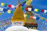 Boudhanath Stupa, Kathmandu, Nepal Photographic Print by Stefano Politi Markovina