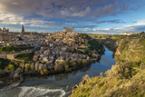 Panoramic View over Toledo and Tagus River, Castile La Mancha, Spain Photographic Print by Stefano Politi Markovina