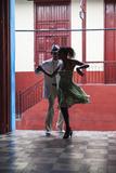 Cuba, Santiago De Cuba Province, Santiago De Cuba, Historical Center, Calle Heredia, Artex Bar Fotografie-Druck von Jane Sweeney