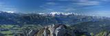 Berner Oberland Mountains from Pilatus, Luzern Canton, Switzerland Fotografie-Druck von Jon Arnold