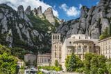 The Benedictine Abbey of Santa Maria De Montserrat, Monistrol De Montserrat, Catalonia, Spain Photographic Print by Stefano Politi Markovina