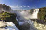 Brazil, Iguassu Falls National Park (Cataratas Do Iguacu), Devil's Throat (Garganta Do Diabo) Fotografie-Druck von Michele Falzone