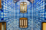 Central Light Well Inside Casa Batllo, Barcelona, Catalonia, Spain Photographic Print by Stefano Politi Markovina