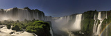 Brazil, Parana, Iguassu Falls National Park (Cataratas Do Iguacu) Illuminated Only by Monlight Reproduction photographique par Michele Falzone