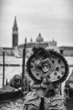 Italy, Veneto, Carnival of Venice Fotografisk trykk av Daniele Pantanali