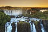 Brazil, Parana, Iguassu Falls National Park (Cataratas Do Iguacu) (Unesco Site) Fotografisk tryk af Michele Falzone