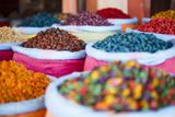 Morocco, Marrakech, Spices and Scents of Morocco Fotografisk trykk av Andrea Pavan