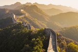 Great Wall; Jinshanling; Beijing; China Fotografie-Druck von Peter Adams