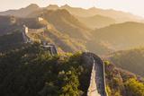 Great Wall; Jinshanling; Beijing; China Lámina fotográfica por Peter Adams