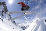 Skiing, Tristkopf, Kelchsau, Tyrol, Austria (Mr) Reproduction photographique par Norbert Eisele-Hein