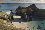 Kynance Cove, on the Lizard Peninsula, Near Helston, Cornwall Photographic Print by Nigel Hicks