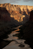 The Colorado River from the Ancient Ruins at Nankoweap Canyon, Grand Canyon Np Photographic Print by Aaron Huey