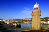 Dunmore East Harbor and Lighthouse, County Waterford, Ireland Photographic Print by Chris Hill