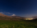 A Spring Night Above the High Slopes of Mount Damavand in the Alborz Mountains Photographic Print by Babak Tafreshi