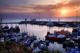 Dunmore East Harbor in Waterford, Ireland Stampa fotografica di Chris Hill