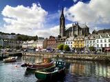 Cobh Harbour, County Cork, Ireland Lámina fotográfica por Chris Hill