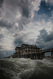 Cloudy Skies Along the Outer Banks of North Carolina Reproduction photographique par Chris Bickford