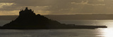 St Michael's Mount Silhouetted by the Setting Sun, Marazion, Near Penzance, Cornwall Photographic Print by Nigel Hicks