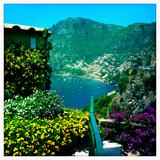 Positano on the Amalfi Coast Fotografisk tryk af Skip Brown