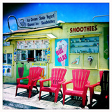 An Ice Cream Stand Reproduction photographique par Skip Brown