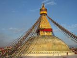 The Bodhnath Stupa in Kathmandu Photographic Print by Martin Gray