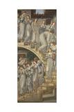 The Golden Stairs Reproduction procédé giclée par Edward Burne-Jones