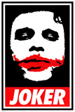 The Dark Knight - Obey The Joker Kunstdrucke