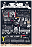 The Goonies - Typographic Prints