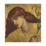 Sancta Lilias Giclee Print by Dante Gabriel Rossetti
