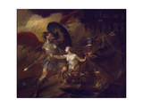 Satan, Sin and Death (A Scene from Milton's 'Paradise Lost') Giclee Print by William Hogarth