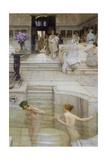 A Favourite Custom Giclée-tryk af Sir Lawrence Alma-Tadema
