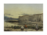 Pegwell Bay, Kent - a Recollection of October 5th 1858 Giclee Print by William Dyce